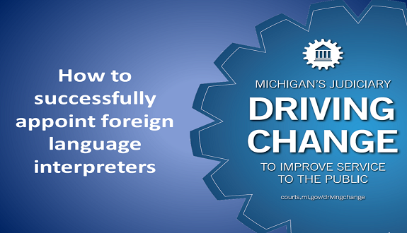 SCAO in Brief: Tips on Appointing Foreign Language Interpreters